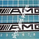 AMG Mercedes Benz Patch German Car Auto Jersey Auto Tuning Racing  2pcs sew on
