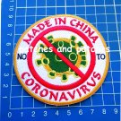 NO TO CORONA NO MADE IN CHINA Patch COVID JERSEY SEW ON EMBROIDERY 19