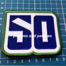 2020 Vancouver Canucks 50th Anniversary Logo NHL Hockey Sew On Embroidered