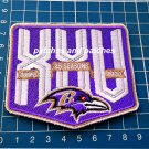 2020 Baltimore Ravens 25th Seasons Anniversary Football  NFL sew embroid patch