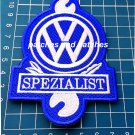 VW Volkwagen Spezialist Patch German Car Auto Jersey Auto Tuning Racing Sew On