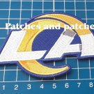2020 LOS ANGELES RAMS LA RAMS FOOTBALL NFL SUPERBOWL LOGO PATCH SEW EMBROIDERED