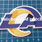 2020 LA RAMS FOOTBALL NFL SUPERBOWL LOS ANGELES RAMS LOGO PATCH SEW EMBROIDERED