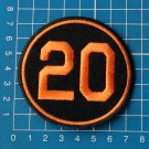 Frank Robinson #20  Baltimore Orioles Memorial MLB Baseball Jersey sew on Patch