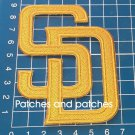 2020 San Diego Padres SD MLB Baseball Brown or Yellow Sew On Jersey Patch
