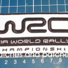 WRC Fia World Rally Championship Logo Patch sew on embroidery Jersey embroidered