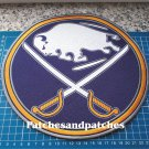 """NHL Hockey Buffalo Sabres Primary logo 10"""" Patch Jersey sew on embroidery"""