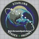 NASA Space X F9 Falcon 9 Starlink Demo-2 Hurley Behken Mission To Space Patch