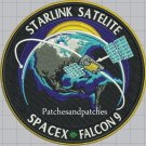 NASA SpaceX F9 Falcon 9 Starlink Satelite DM-2 Demo-2 Hurley Behken Patch