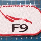 NASA SpaceX F9 Falcon 9 logo sew on embroidery Patch