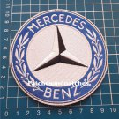 Mercedes Benz Patch German Car Auto Blue Jersey Auto Tuning Racing embroidered