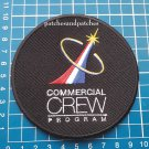 NASA SpaceX Commercial Crew Program Logo DM-2 Human First Flight sew on Patch