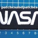 NASA Worm Patch Logo Jersey 2pcs sew on embroidery Astronauts