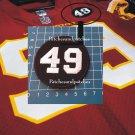 WASHINGTON FOOTBALL TEAM No.49 BOBBY MITCHELL MEMORIAL LOGO PATCH USA SPORTS SEW