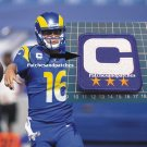2020 LOS ANGELES RAMS CAPTAIN C PATCH NFL FOOTBALL USA SPORTS SUPERBOWL JERSEY