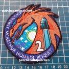 SpaceX NASA Crew-2 Crew Dragon Human Space Flights ISS Logo Patch Emblem sew on
