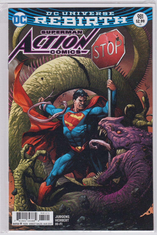 ACTION COMICS 981 DC Comics 2017 Gary Frank Variant Cover