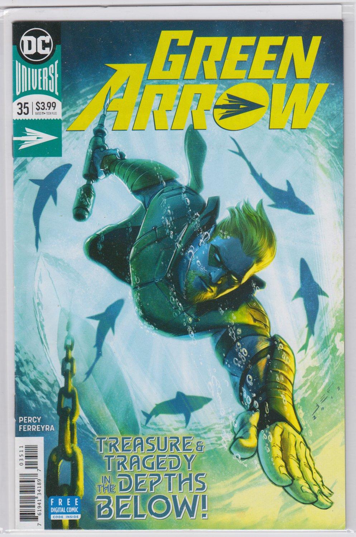 GREEN ARROW 35 DC Comics 2018
