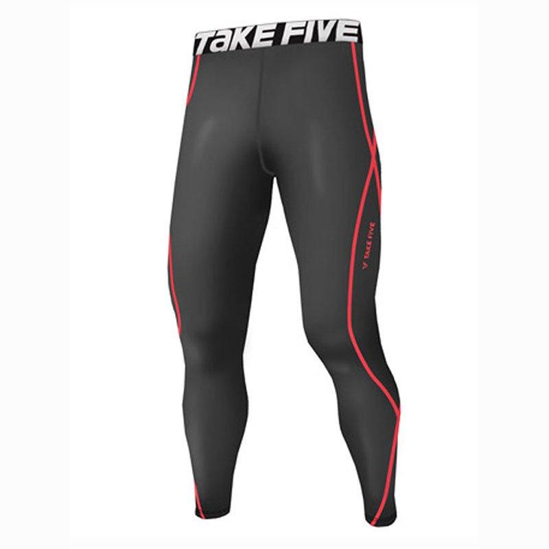 Take Five Mens Skin Tight Compression Base Layer Running Pants Leggings 217