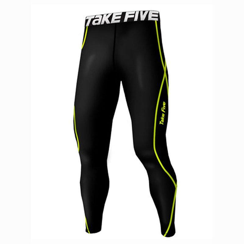 Take Five Mens Skin Tight Compression Base Layer Running Pants Leggings 215