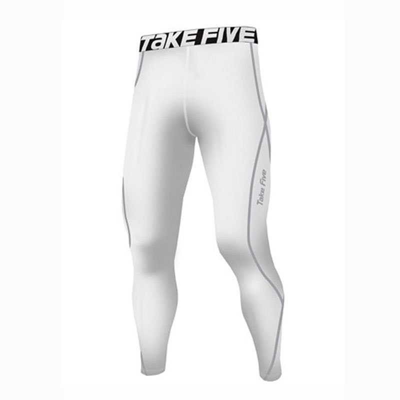Take Five Mens Skin Tight Compression Base Layer Running Pants Leggings 016