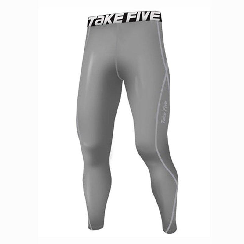 Take Five Mens Skin Tight Compression Base Layer Running Pants Leggings 019