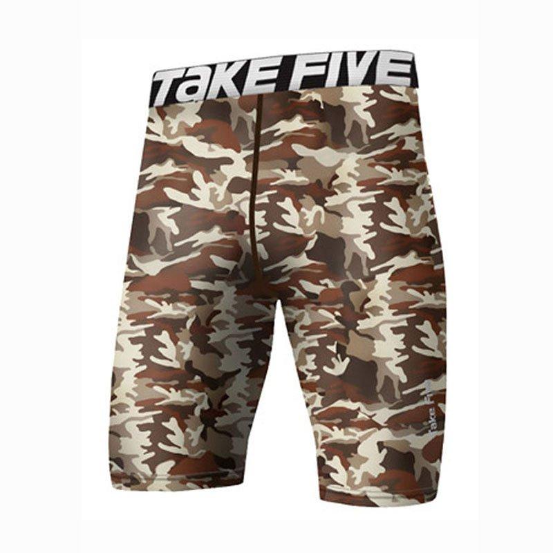 Take Five Mens Skin Tight Compression Base Layer Running Pants Leggings 071