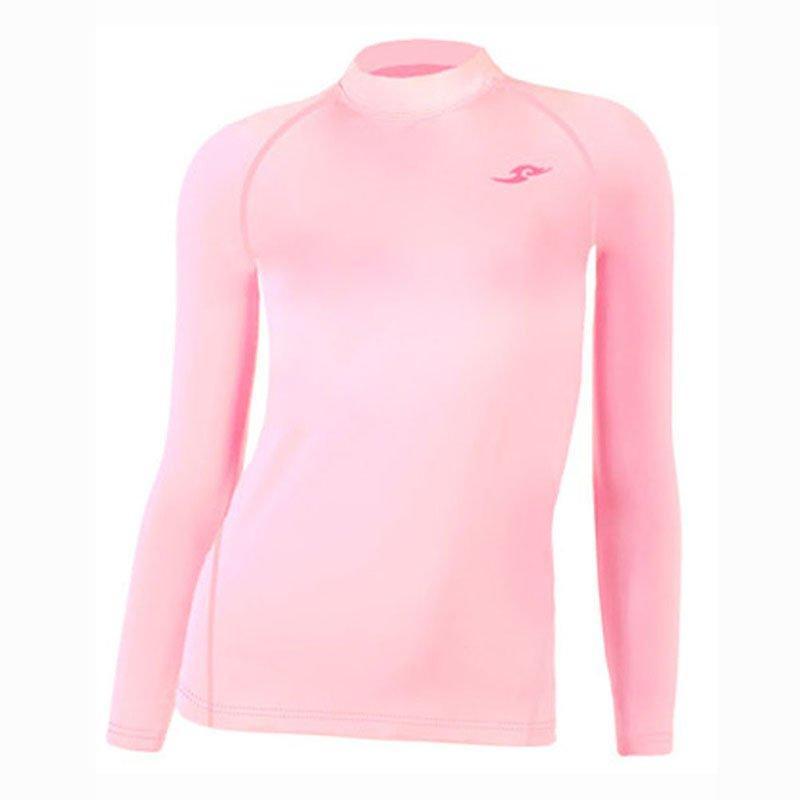 Take Five Womens Skin Tight Compression Base Layer Running Shirt S~XL Pink 142