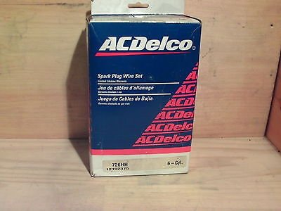 ACDelco 726HH Ignition Cable Kit General Motors GM OE 12192375