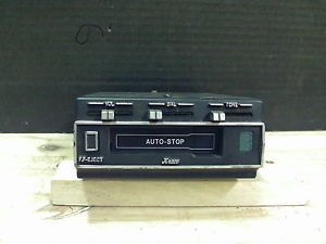 1980s Kraco Underdash Cassette Tape Player With Auto-Stop Model KS960E