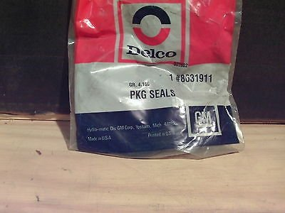 ACDelco 8631911 General Motors GM Original Equipment Seal Package