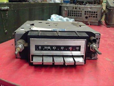 "1980s GM AM Radio Model Unknown Marked ""82 Cutlass"""