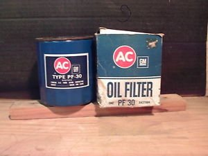 ACDelco PF30 Oil Filter GM OE NOS 6437994 Cadillac Oldsmobile