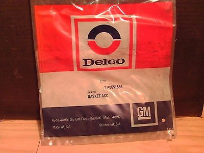 ACDelco 8651536 General Motors GM OE NOS Transmission Gasket