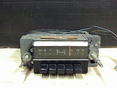 1972 Ford Galaxie LTD Philco AM Radio Model D2AA