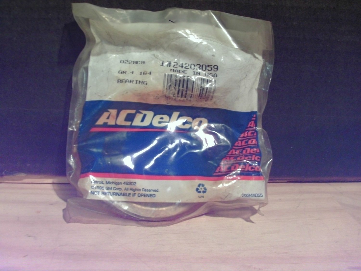ACDelco 24203059 General Motors GM OE NOS Transmission Bearing for 24217490 Gear