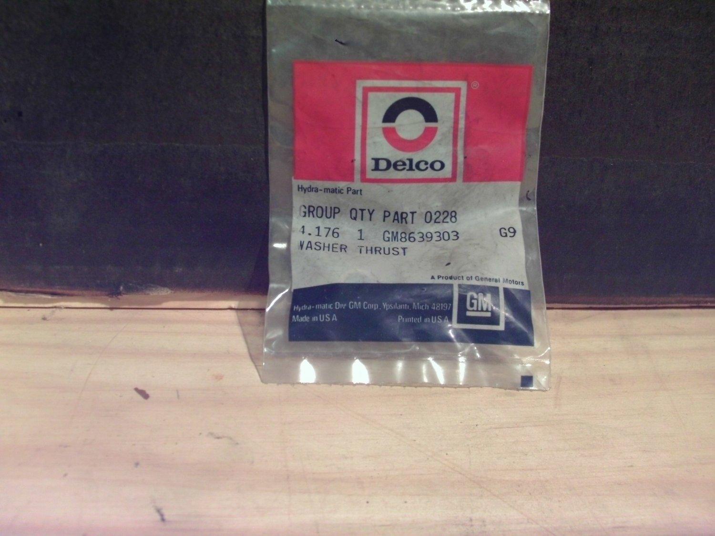 ACDelco 8639303 Original Equipment OE Washer General Motors GM