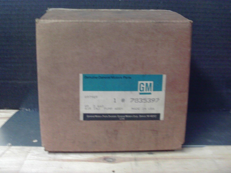 General Motors 7835397 Original Equipment OE NOS Air Pump