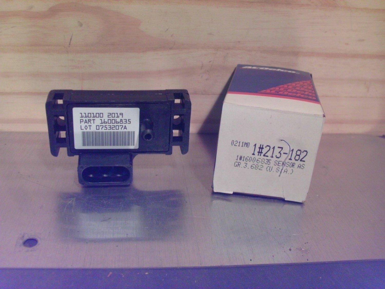 ACDelco 213-182 Original Equipment OE NOS MAP Sensor General Motors GM 16006835