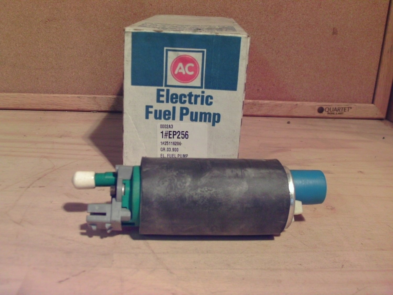 ACDelco EP256 Original Equipment OE Fuel Pump General Motors GM 25116286