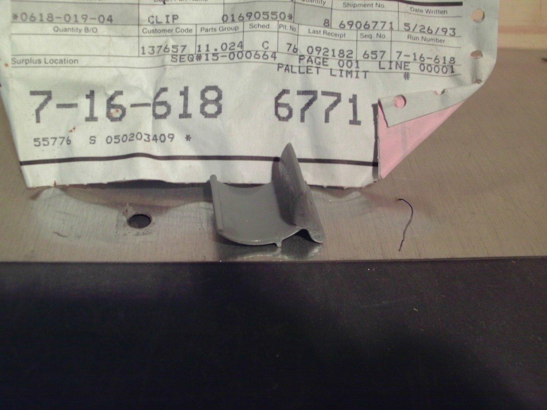 General Motors 1690550 Original Equipment OE NOS Clip