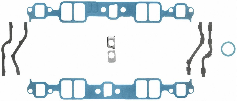 Fel-Pro SBC Intake Manifold Gasket Kit MS903142 with Sleeve-n-Seal