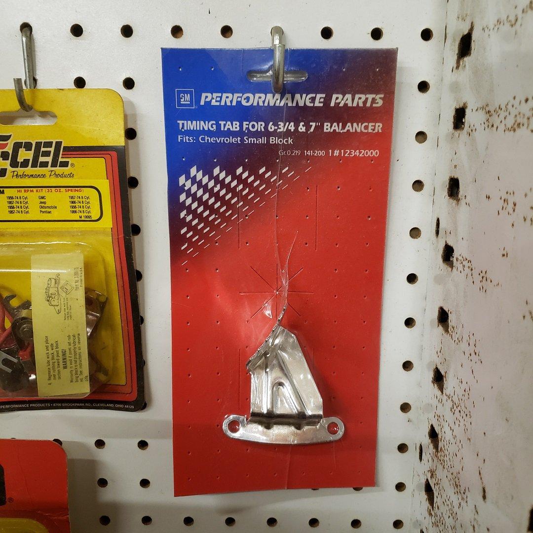 GM Performance Parts SBC Timing Pointer 12342000 SB1