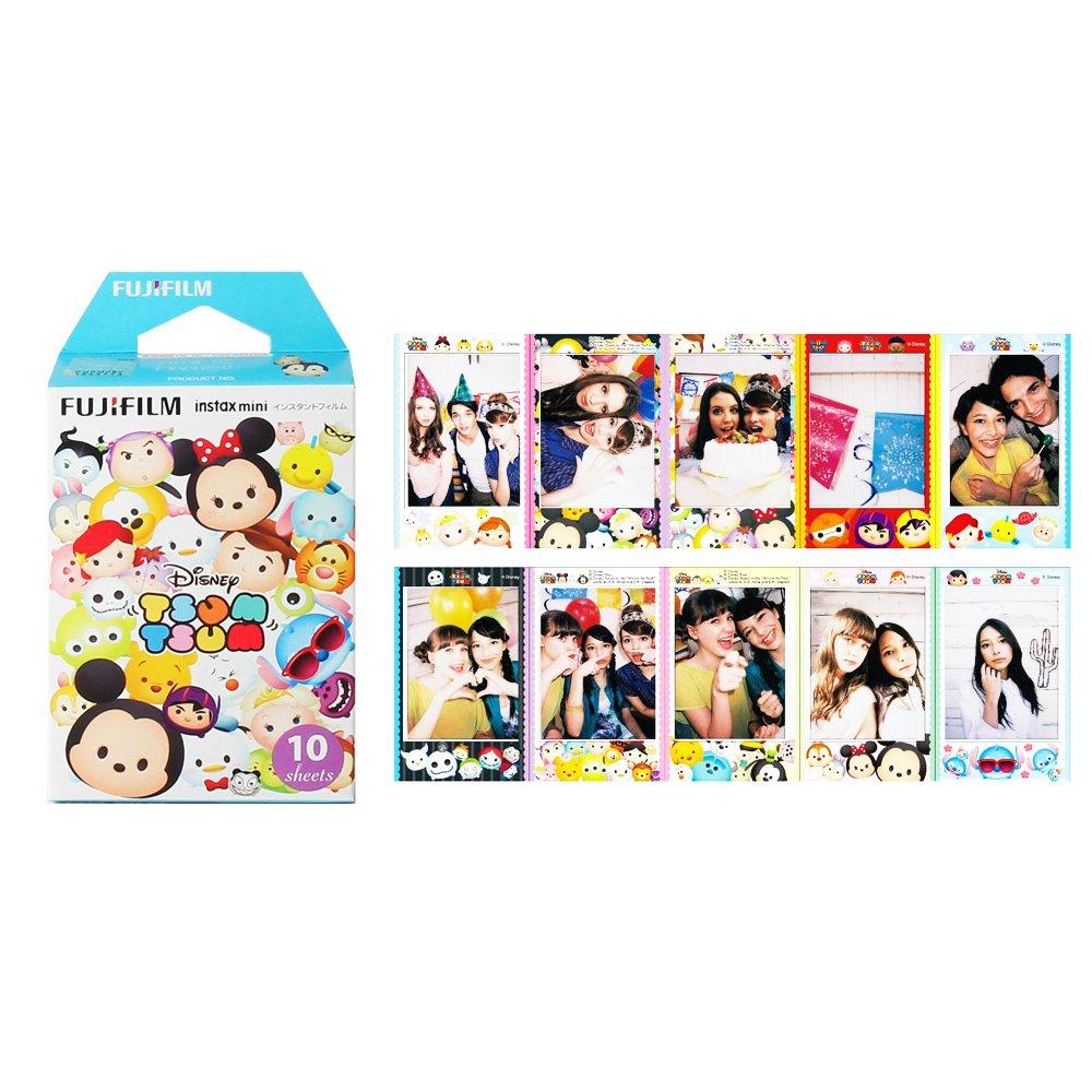 Disney Tsum Tsum Blue Fujifilm Instax Mini Films Polaroid Photos Accessory