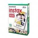 White Fujifilm Instax Mini Films Polaroid Photos Accessory