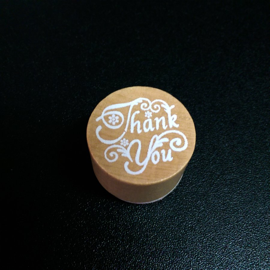 Rubber Stamp Thank You