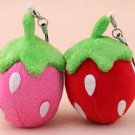 2 Kawaii Strawberry Stuffed Doll Soft Plush Toy Accessories Decoration