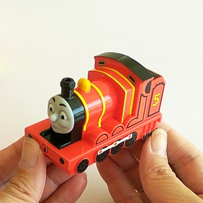 Thomas and Friends James Train McDonald's Happy Meal Toy