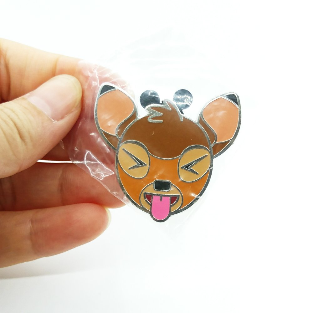 Disney Pin Emoji Deer Bambi from Hong Kong Disneyland