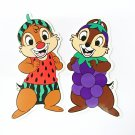 Disney Chip and Dale Postcards Message Cards from Hong Kong Disneyland